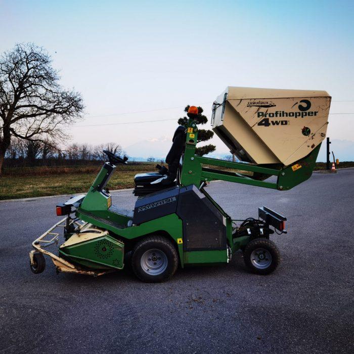 Tracteur tondeuse Amazone 2